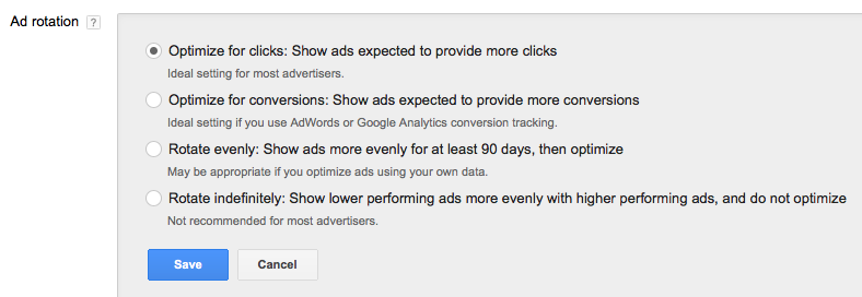 how to properly set up an adwords account